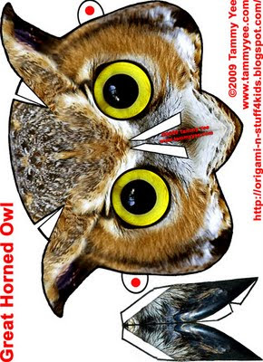 Great Horned Owl Mask