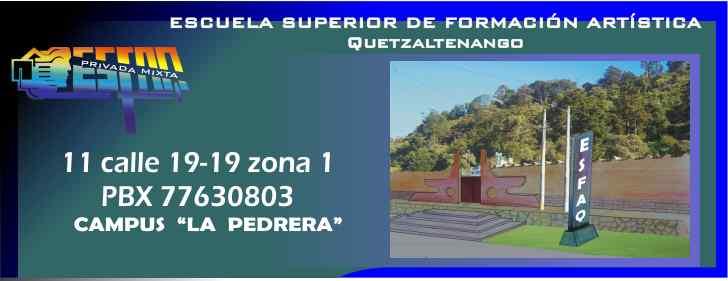Escuela Superior de Formación Artistica Quetzaltenango
