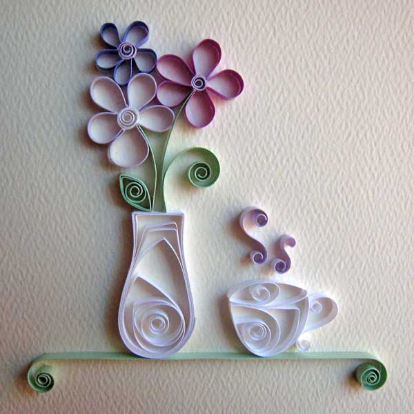 Siew mai origami quilling for Quilling how to