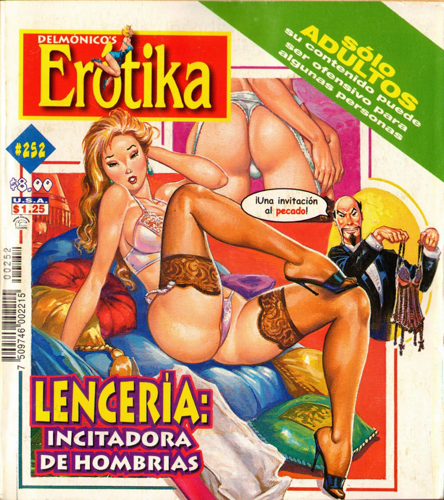 Mexican Adult Comics. Visit Historietas Perversas for more.
