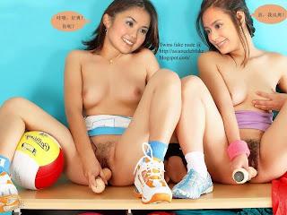 Choi Gillian Chung Fake Nude Picture Set