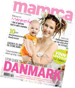 "Vimplene mine er med i reportasje i ""Mamma""."