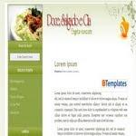 Delicius Food Blogspot Template