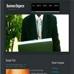 Blogspot Business Elegance Template