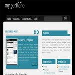 Blogspot Business Reflection Template