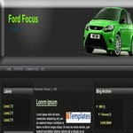 Ford Focus Blogspot Template