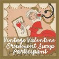 Vintage Valentine Ornament Swap