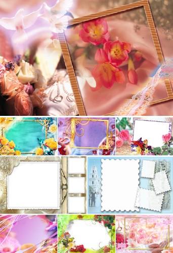 Wedding Frames Set for Photoshop