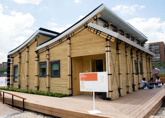 La madera en la arquitectura enero 2011 for A s home design kirkintilloch