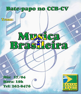 Música - Bate papo no CCB - CV!