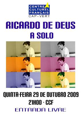 Ricardo de Deus em Concerto!