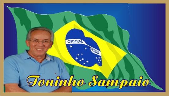 Toninho Sampaio é mais Brasil