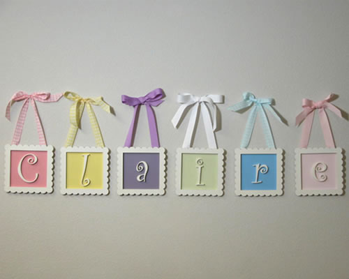 Great DIY Nursery Letters Wall Decor 500 x 400 · 23 kB · jpeg
