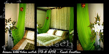 Bridal Room Deco- green