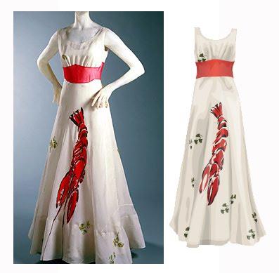 """Holy Langoustine!"": A Marine Inspired Fashion 'Confection,' The Schiaparelli, Dali Influenced ..."
