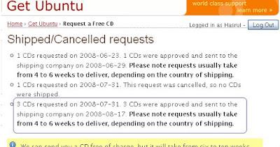 Akhirnya Datang juga UBUNTU server, Kubuntu, dan Ubuntu 64 bit