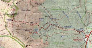 lionshead trail/topo map