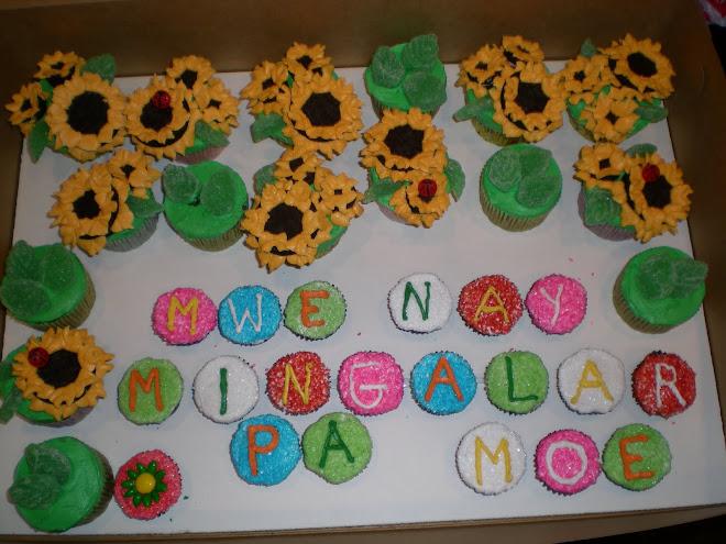 Sunflowers and Ladybugs