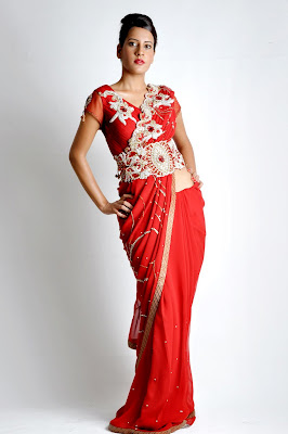 Latest Bridal Wear Saree