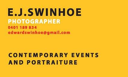 E J SWINHOE.