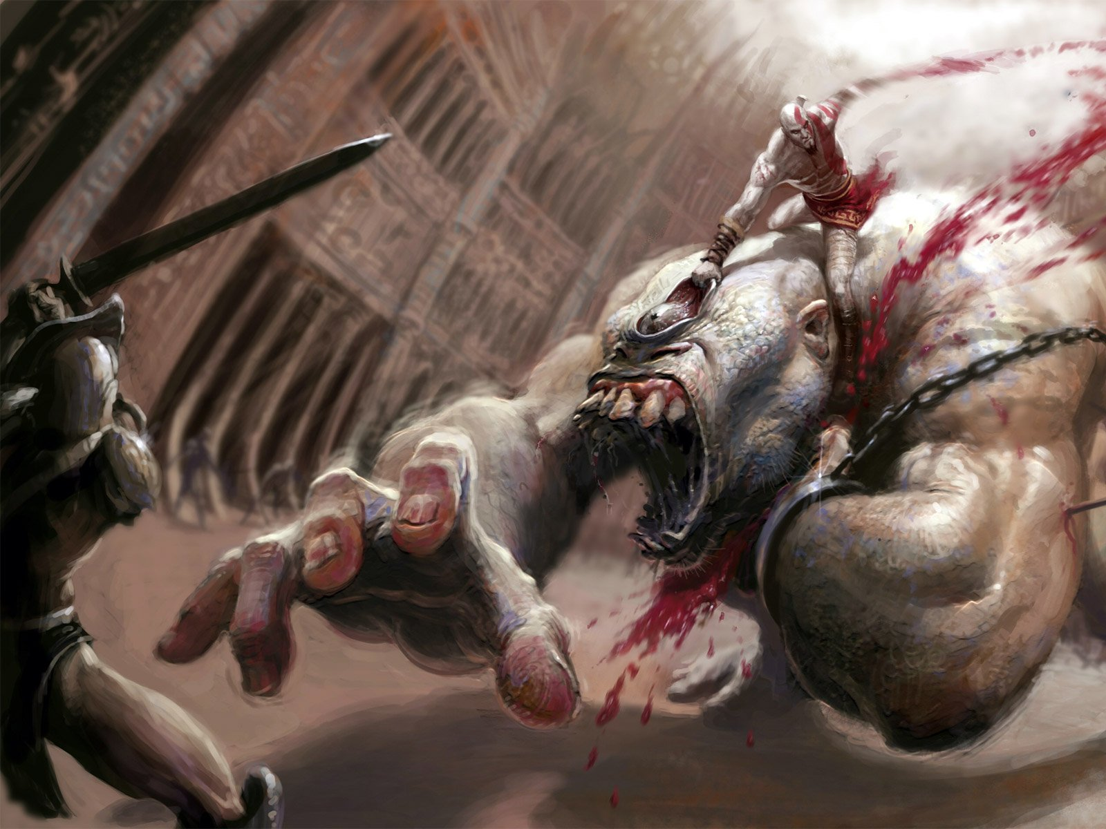 muchojuego god of war 3