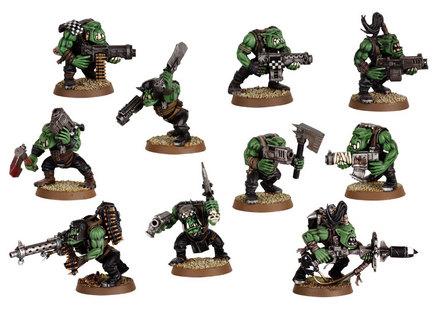 Space Orks Orc Boyz Torso Body Warhammer 40 k Bitz 5412
