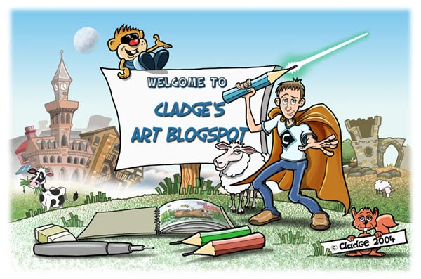 Cladge's Art Blogspot