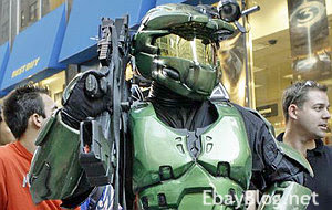 halo 3 spartan master chief mjolnir armor on ebay