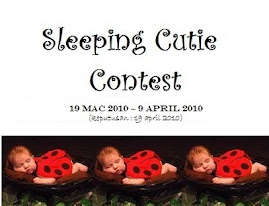 SLEEPING CUTIE CONTEST(19 MARCH2010 - 9 APRIL 2010)