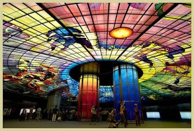 高捷美麗島站‧光之穹頂