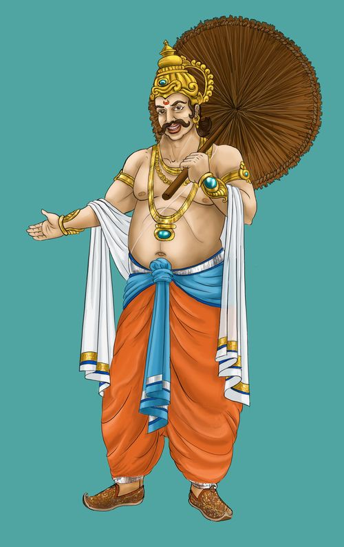 an analysis of the character of mahabali in the indian scriptures Even though becoming a chiranjivi or immortal is not described as a goal anywhere in the hindu scriptures king mahabali mahabali or character in the indian.