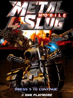 juegos para celulares muchas resoluciones parte 2 Metal+Slug+4+Mobile