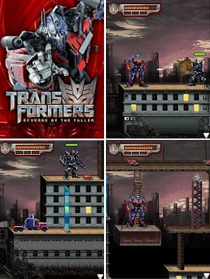 A game supported the summer blockbuster movie The Transformers: Revenge of ...