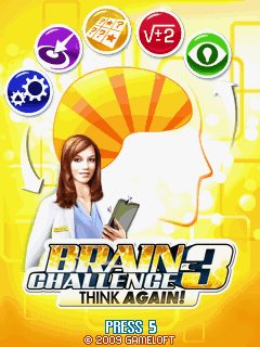 Brain Challenge Vol. 3: Think Again