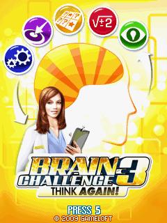 Brain Challenge Vol. 3: Think Again