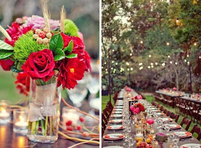 Wedding Reception on Let S Indulge  Backyard Wedding