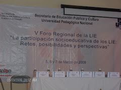 Video V Foro Regional LIE