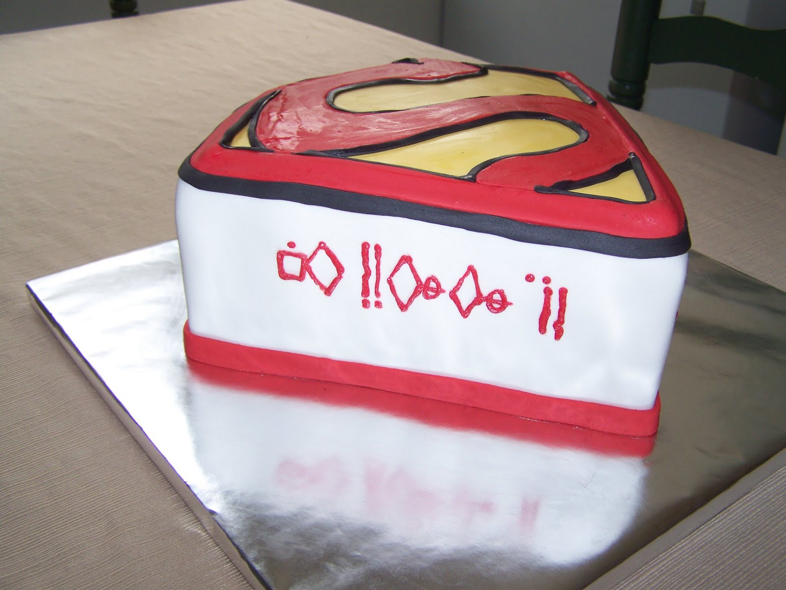 Tj Happy Cakes Extreme Superman Fan