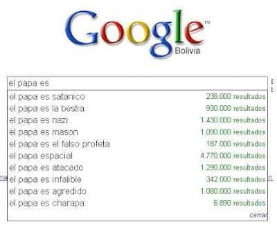 Prejuicios con google 9