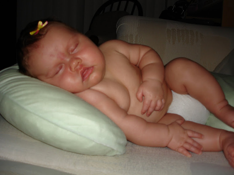 Baby Missoni sleeping...