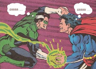 Superman vs green lantern - photo#18