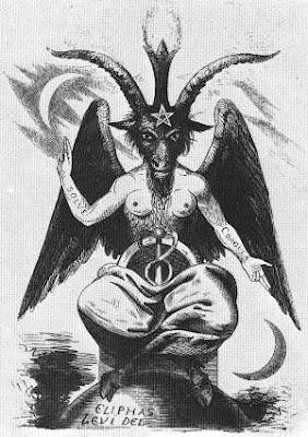 Baphomet = cordeiro de Deus = bode expiatório = Satanás
