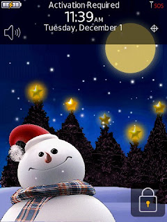 snowman e mobile live chrismast