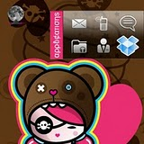 Cutie Pie BlackBerry Torch Themes 2 Cutie Pie Torch 9800