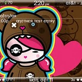 Cutie Pie BlackBerry Torch Themes 4 Cutie Pie Torch 9800