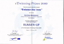2nd WINNER IN ETWINNING EUROPEAN AWARDS