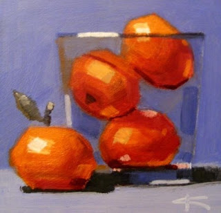 Clementines small painting!