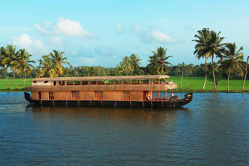 boathouse in kerala. The Houseboats of Kerala are a