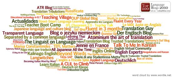 the top 100 language blogs babelan the languages site