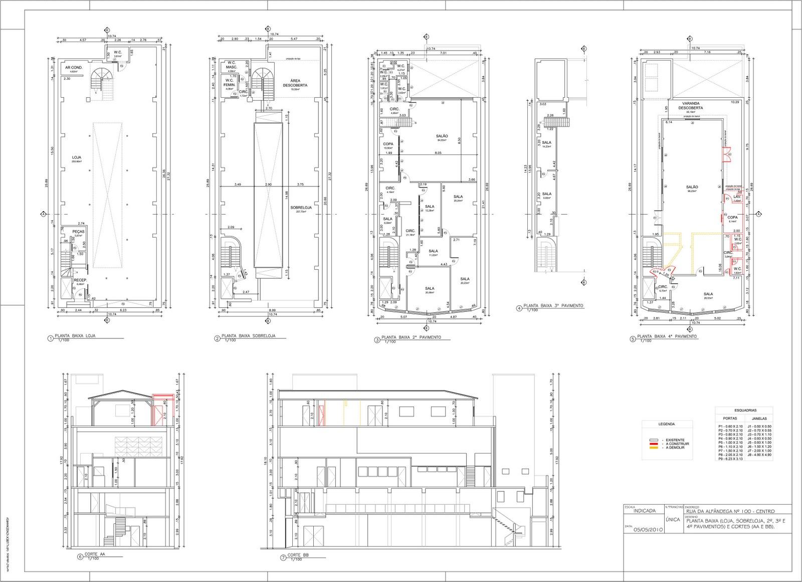 Fabuloso Dico Mattos: Trabalho desenho arquitetura - Planta baixa prédio  UO78